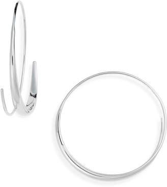Tom Wood Large Ear Loop Earrings