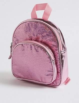 Marks and Spencer Kids' Sequin Backpack