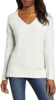 Caslon Chunky V-Neck Pullover