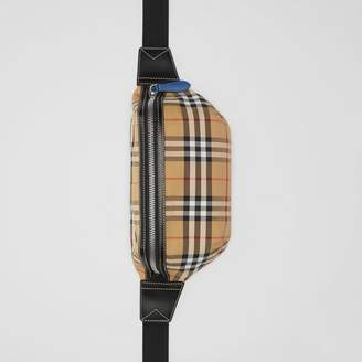 Burberry Medium Vintage Check Bum Bag, Yellow