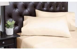 Spectrum Home Textiles Organic Cotton T-350 King Pale Gold Sheet Set