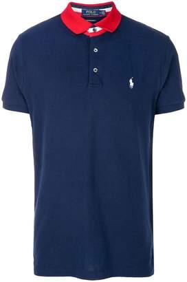 Polo Ralph Lauren contrasting collar polo shirt