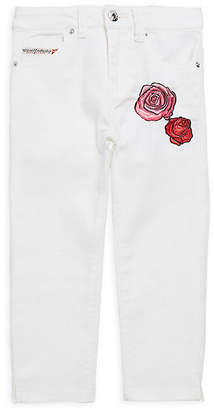 Diesel Embroidered Floral Pant