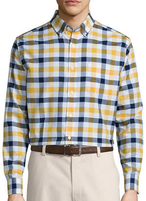 ST. JOHN'S BAY Long-Sleeve Easy-Care Oxford Shirt