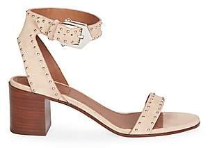 Givenchy Women's Studded Suede Sandals