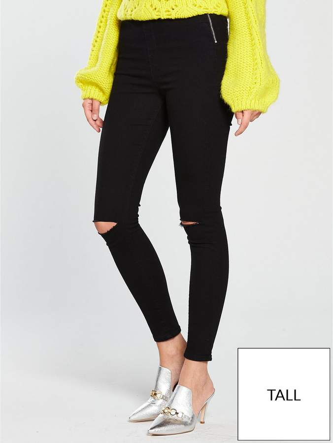 Tall Charley High Waisted Super Skinny Rip Jean