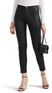 IRO Women's Sabrina Leather Pants - Black Size 40