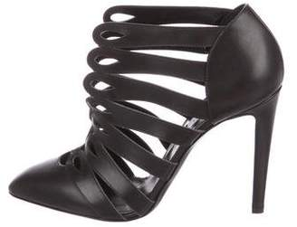 Altuzarra Leather Cage Booties
