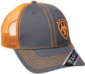 Ariat Men's Clean Orange Corner Logo