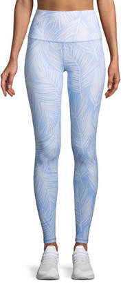 Spiritual Gangster High Vibe Printed High-Waist Leggings