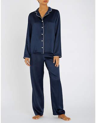 Derek Rose Bailey silk-satin pyjama set
