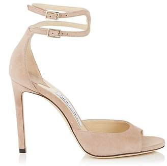 Jimmy Choo Lane 100 Suede Sandals