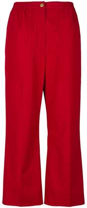 Sonia Rykiel straight leg cropped trousers
