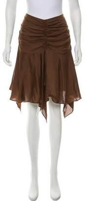 Plein Sud Jeans Asymmetric Knee-Length Skirt