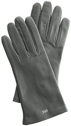Women\'s Italian Leather Classic Gloves, Jewel-Toned
