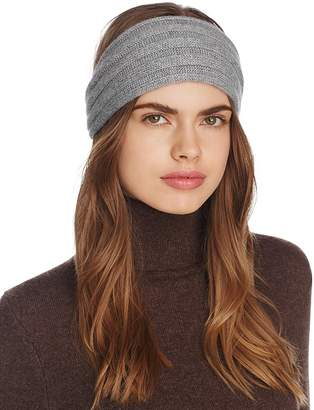 Bloomingdale's C by Ribbed Cashmere Headband - 100% Exclusive
