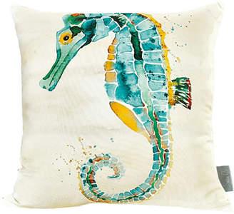 SARA B Sara B Seahorse Square Pillow