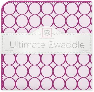 Swaddle Designs Ultimate Receiving Blanket, Jewel Tone Mod Circles