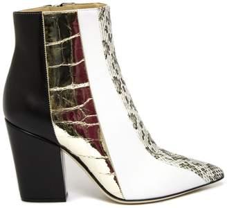 Sergio Rossi Multi-coloured Leather Boots