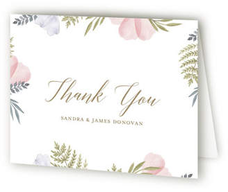 Minted That Petal Crib Birth Announcements Thank You Cards