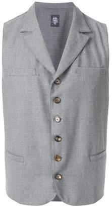 Eleventy buttoned waistcoat