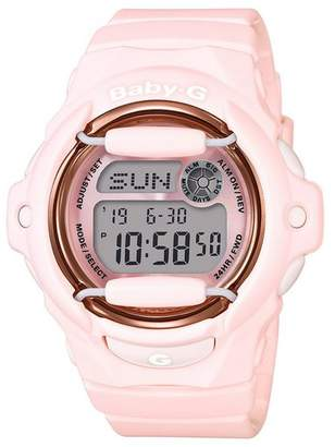 Baby-G Casio Pink World Time Telememo Digital Watch