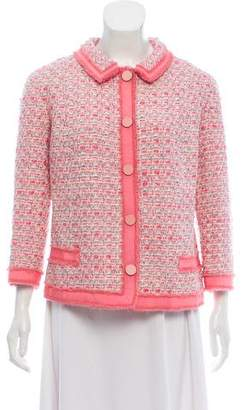 Marc Jacobs Bouclé Virgin Wool Jacket