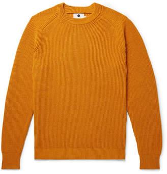 Nn07 Ribbed Baby Alpaca-Blend Sweater