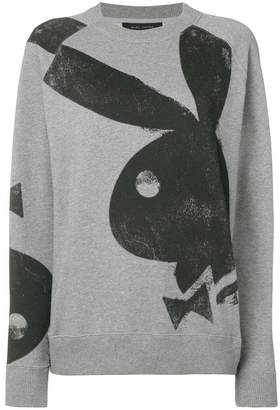 Marc Jacobs Playboy bunny-print sweatshirt