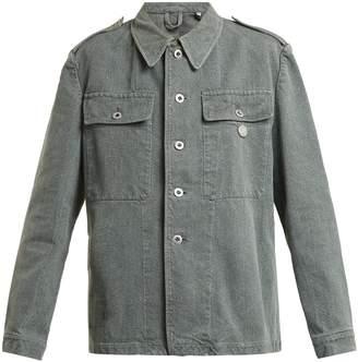 MYAR Oversized denim army jacket