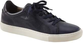 Banana Republic Nicklas Perforated Leather Sneaker