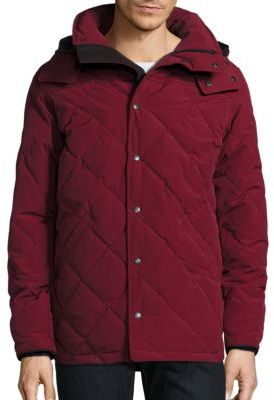 Canada Goose Webster Duck Down Hooded Coat $1,050 thestylecure.com