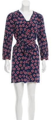 Amanda Uprichard Printed Silk Dress