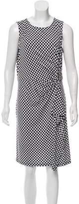 MICHAEL Michael Kors Checkered Knee-Length Skirt