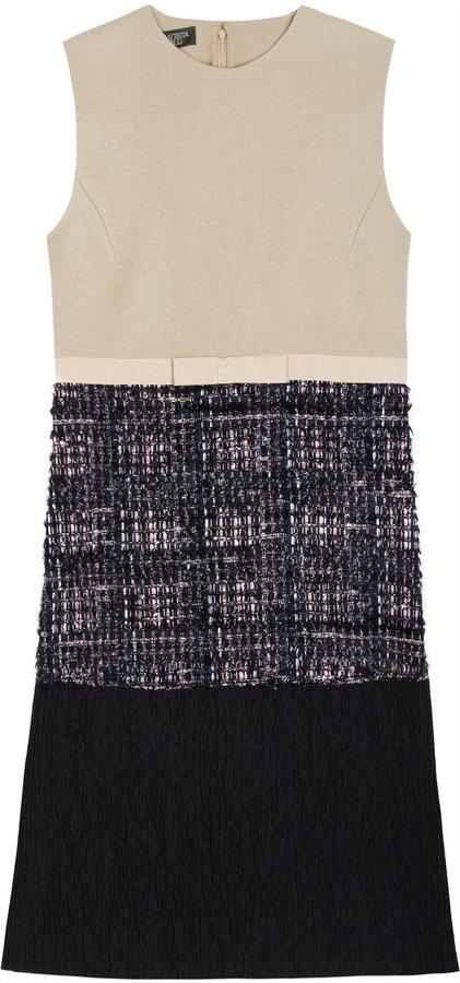 Giambattista Valli Contrast Fabric Dress