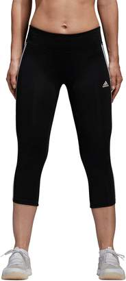 adidas Women's Designed 2 Move Midrise Capri Leggings