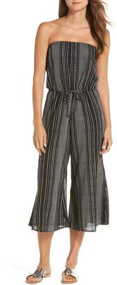 Elan International Strapless Cover-Up Culotte Jumpsuit