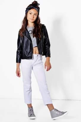 boohoo Girls Boyfriend Jeans