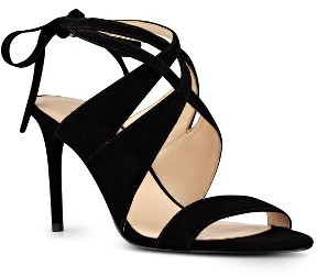 Women's Nine West Ronnie Ankle Tie Sandal $88.95 thestylecure.com
