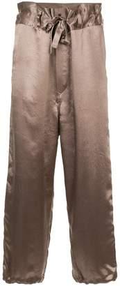 SASQUATCHfabrix. drawstring satin trousers