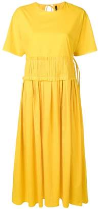 Sara Lanzi pleated waist dress