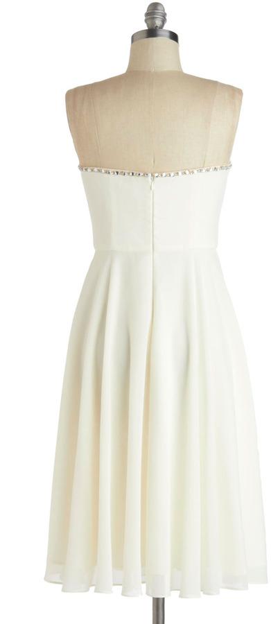 White Tie Optional Dress