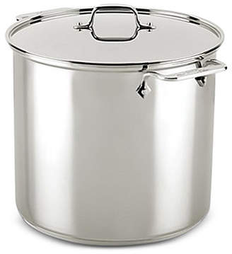 All-Clad Stainless Steel 16-Qt. Stockpot with Lid