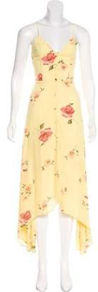 Reformation Printed Maxi Dress