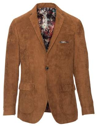 Paisley & Gray Dover Ultra Faux Suede Two Button Notch Lapel Slim Fit Jacket