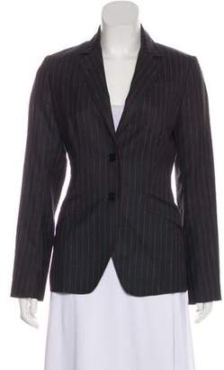 Paul Smith x Black Label Pinstripe Structured Blazer