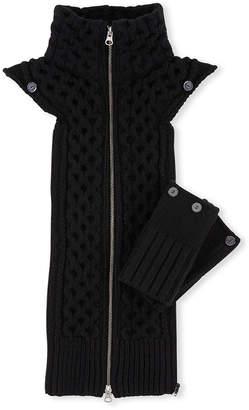Veronica Beard Upstate Knit Dickey w/Cuffs