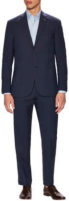 Michael Bastian Gray Label Wool Plaid Notch Lapel Suit