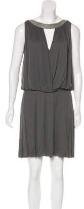 Alberta Ferretti Embellished Mini Dress