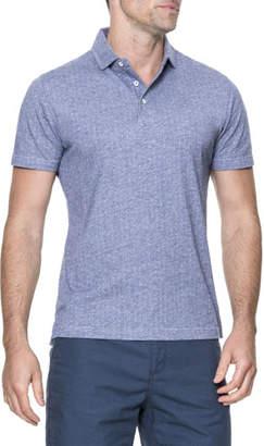 Rodd & Gunn Parkhurst Striped Cotton Polo Shirt